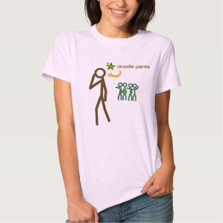 Stick Figure Doodiepants Tee Shirt