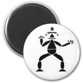 Stick Figure Drawing Magnet