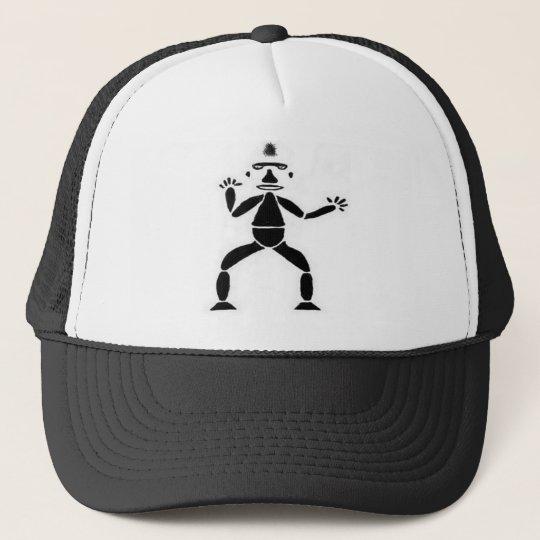 Stick Figure Drawing Trucker Hat