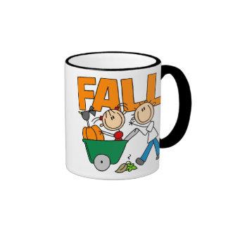 Stick Figure Fall Mug