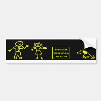 Stick Figure Family Bumper Sticker