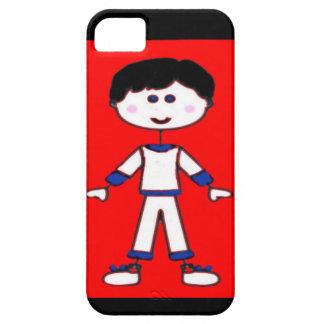 Stick Figure Family (Dad) iPhone SE/5/5s Case