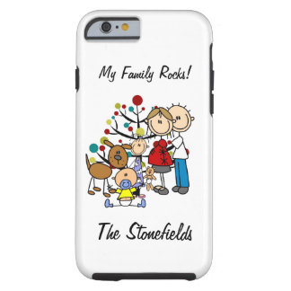 Stick Figure Family Expectant Mom iPhone 6 Tough iPhone 6 Case