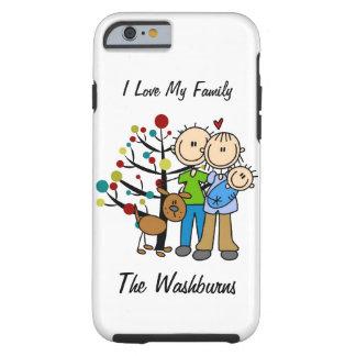 Stick Figure Family iPhone 6 Tough Case