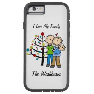 Stick Figure Family iPhone 6 Tough Xtreme Case