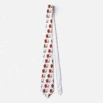 Stick Figure Farm Animals Tshirts and Gifts Neck Tie