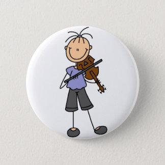 Stick Figure Fiddle Button