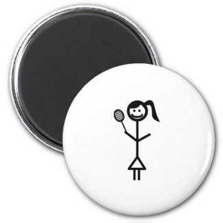 Stick Figure Girl Magnets