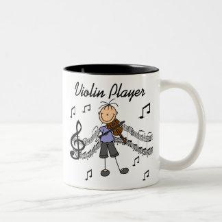 Stick Figure Girl Violin Player T-shirts and Gifts Mug