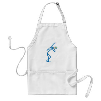 Stick figure golfer T-shirts and Gifts. Aprons