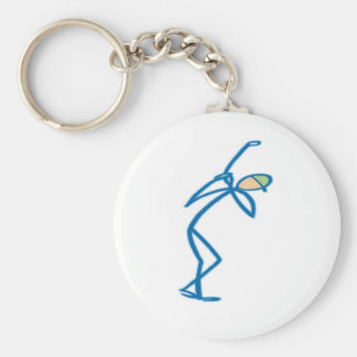 Stick figure golfer T-shirts and Gifts Key Chains
