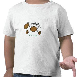 Stick Figure Horse shirt