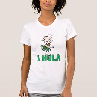 Stick Figure I Hula T-shirts and Gifts