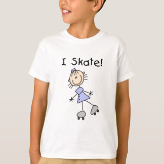 Stick Figure I Skate Tshirts and Gifts