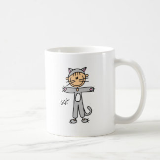 Stick Figure In Cat Suit Mug