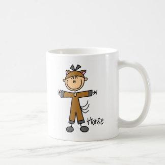 Stick Figure In Horse Suit Mug