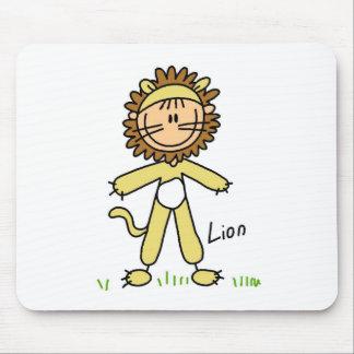 Stick Figure In Lion Suit Mousepad