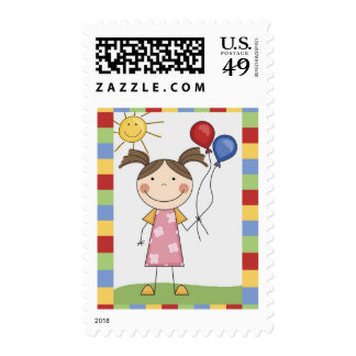 Stick Figure Kids Cards and Gifts Stamps