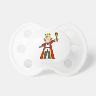 Stick Figure King Pacifier