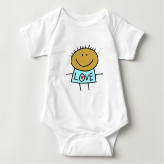 Stick Figure Love Baby clothes Infant Creeper
