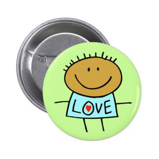 Stick Figure Love Button