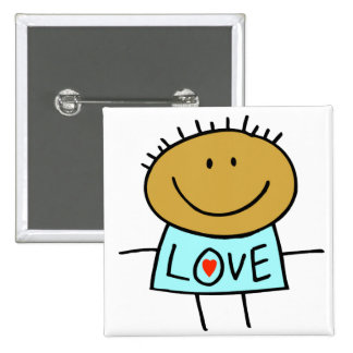 Stick Figure Love Buttons