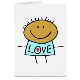 Stick Figure Love Card