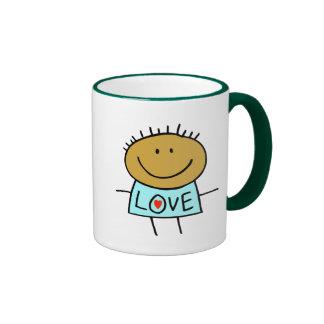 Stick Figure Love Mugs