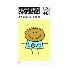 Stick Figure Love Stamps