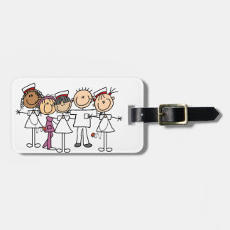 Stick Figure Male I Vacation Luggage  - Customized Tag For Luggage