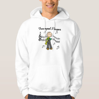 Stick Figure Male Trumpet Player T-shirts and GIft