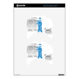 Stick Figure Mover Man Assembling Boxes Xbox 360 Controller Skins
