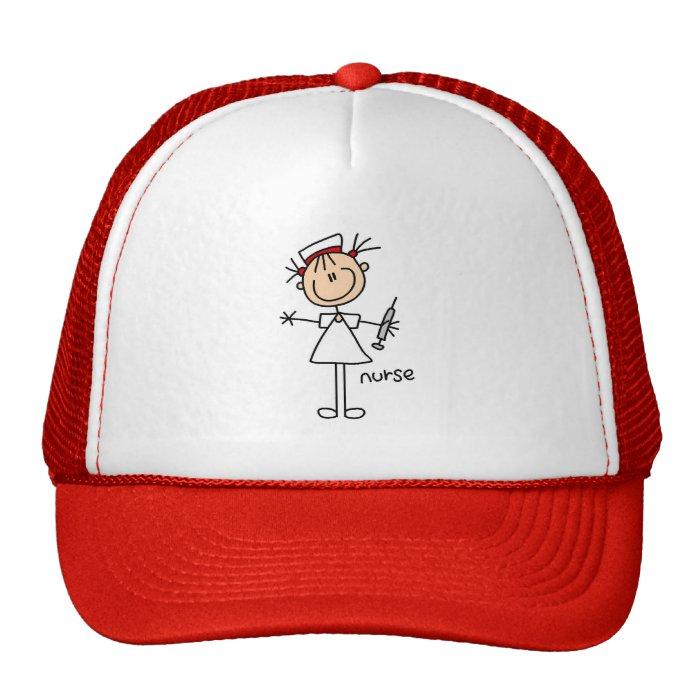 Stick Figure Nurse Hat
