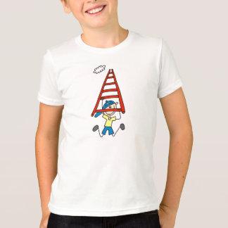 Stick Figure on Monkey Bars T-Shirt