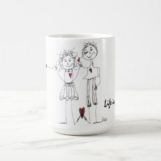 Stick Figure People Mug (You can Customize)