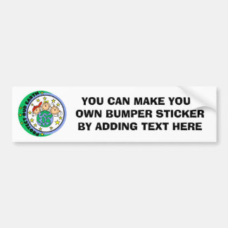 Stick Figure Protect Our Earth T-shirts and Gifts Bumper Stickers