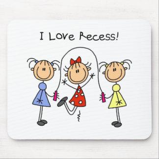 Stick Figure Recess Mousepad