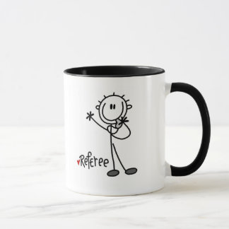 Stick Figure Referee Tshirts and Gifts Mug