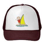 Stick Figure Sailing Hat