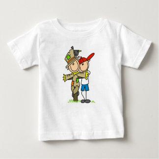 Stick Figure Scarecrow Boy T-Shirt