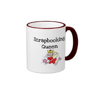 Stick Figure Scrapbook Queen Tshirts and Gifts Mug