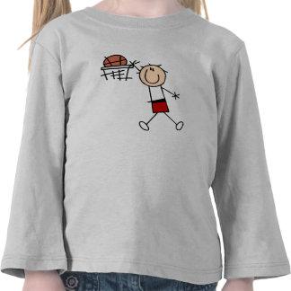 Stick Figure Slam Dunk T-shirts and Gifts