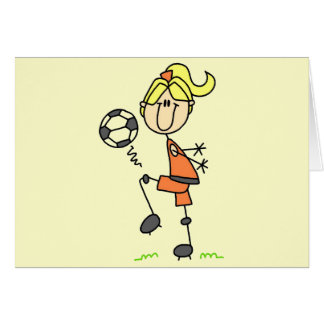 Stick Figure Soccer Tshirts and Gifts Card