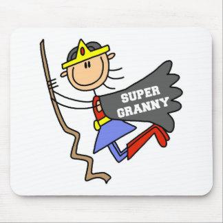 Stick Figure Super Granny Mousepad