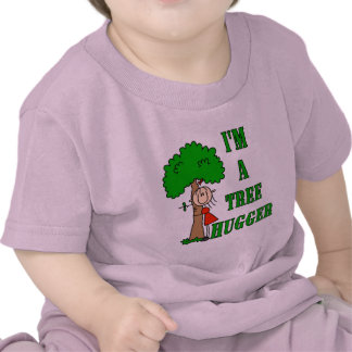 Stick Figure Tree Hugger T-shirts and Gifts