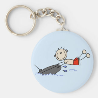 Stick Figure Tubing Tshirts and Gifts Keychains