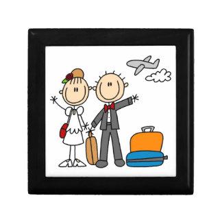 Stick Figure Wedding Honeymoon T-shirts and Gifts Keepsake Boxes