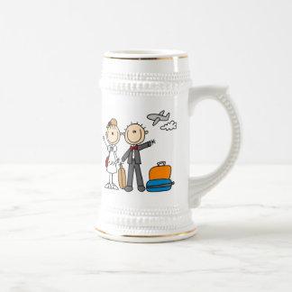 Stick Figure Wedding Honeymoon T-shirts and Gifts Coffee Mugs
