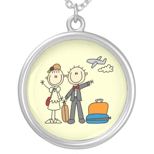 Stick Figure Wedding Honeymoon T-shirts and Gifts Jewelry