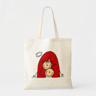Stick Figures  Tenting Tshirts and Gifts Tote Bag